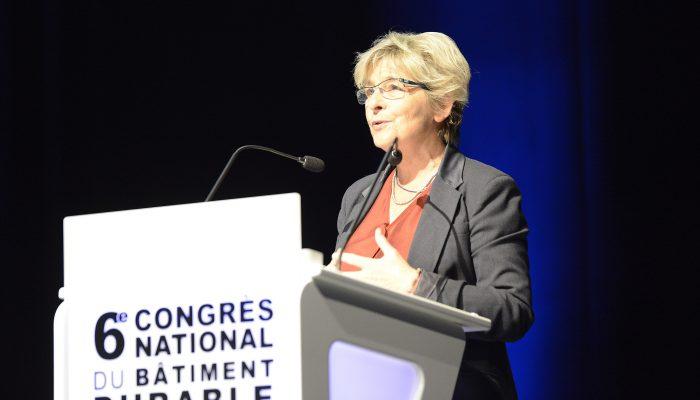 Accueil des congressistes - Marie-Guite DUFAY, présidente de la Région Bourgogne-Franche-Comté
