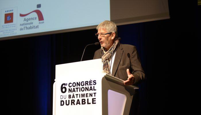 Signature du Plan Bâtiment Durable régional - Pierre GROSSET, Conseiller Régional délégué à l'habitat, l'efficacité énergétique et à l'économie circulaire Région Bourgogne-Franche-Comté