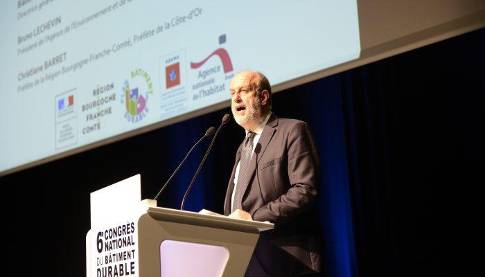 Signature du Plan Bâtiment Durable régional - Bruno LECHEVIN, Président de l'Agence de l'Environnement et de la Maîtrise de l'Energie (ADEME)