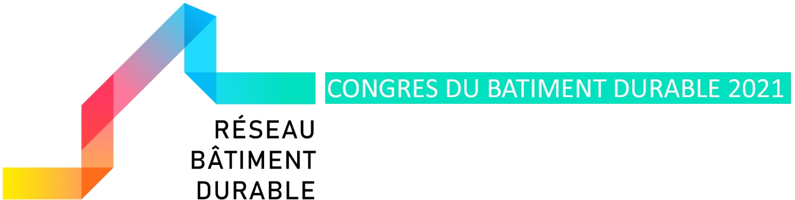 Congrès International du Bâtiment Durable 2021