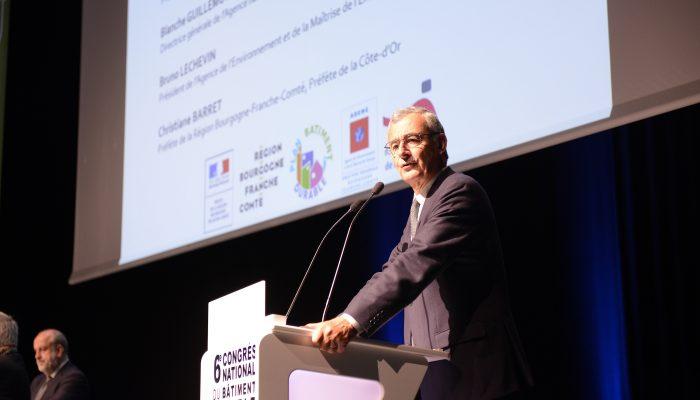 Signature du Plan Bâtiment Durable régional - Philippe PELLETIER, Président du Plan Bâtiment Durable