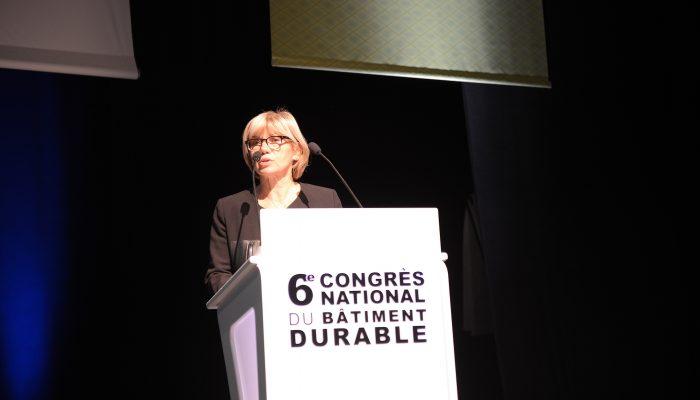 Signature du Plan Bâtiment Durable régional - Christiane BARRET, Préfète de la Région Bourgogne-Franche-Comté, Préfète de la Côte-d'Or