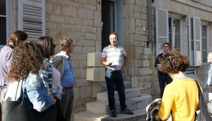 Public et privé engagés : visites de rénovationsperformantes en centre urbain, à Dole (39)
